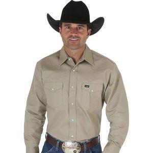 Wrangler Western Work Shirt